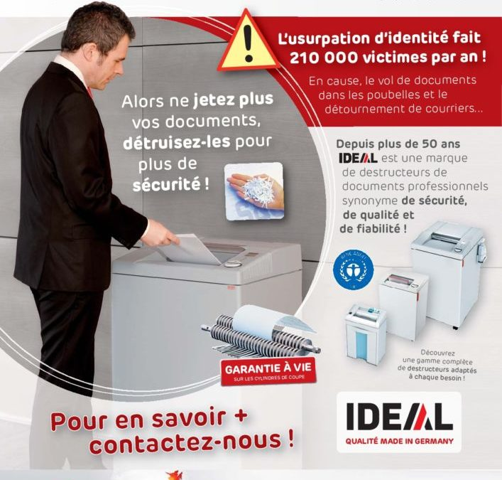 Nos destructeurs de documents